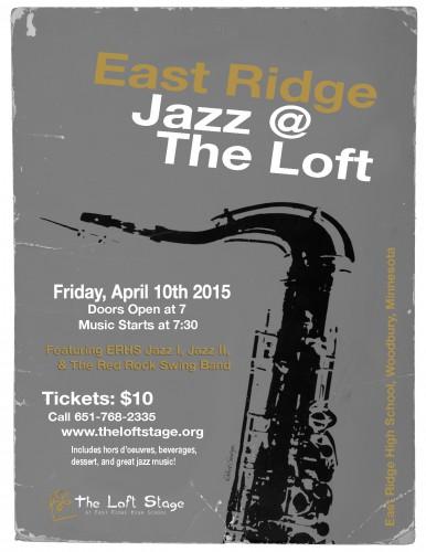 15 Jazz @ The Loft Poster